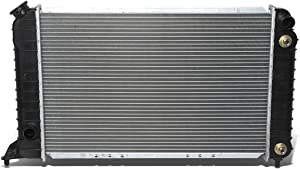 DNA Motoring OEM-RA-1531 OE Style Direct Fit Radiator (94-03 Chevy S10 2.2L), 1 Pack