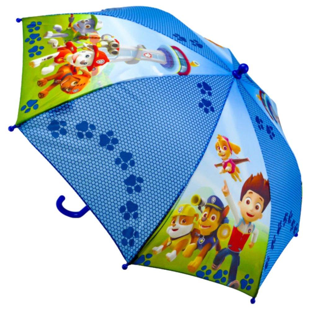 Paw Patrol Parapluie Canne, 40 cm, Multicolore PW16001