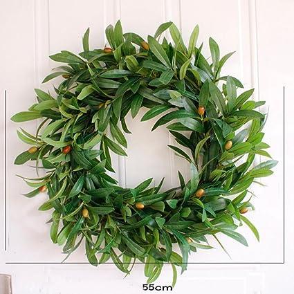 Amazon Com Wedding Door Olive Wreath Summer Wreaths Front Door