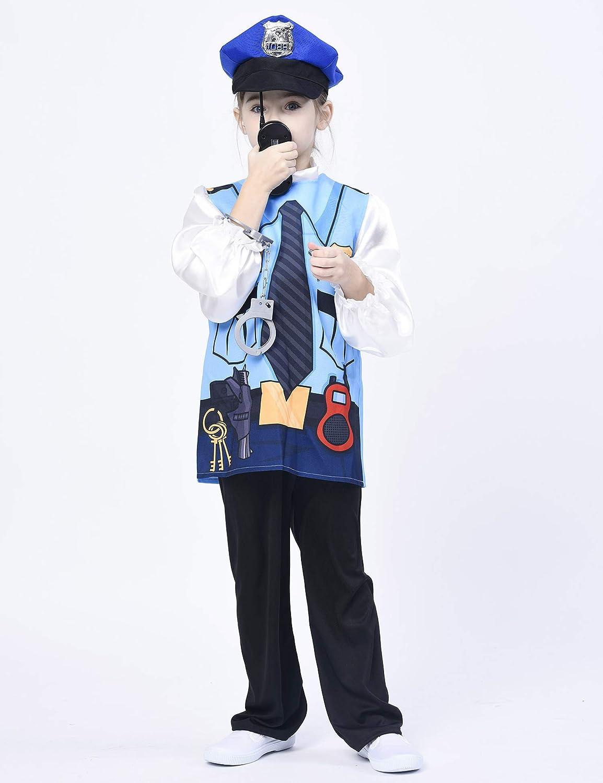 5PCS IKALI Costume Dastronaute pour Enfants 3-4 Ans Combinaison Spatiale Tenue De Jeu Imaginaire