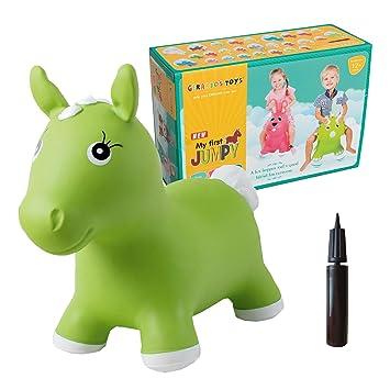 GERARDOS Animal Saltarín Inflable Figura de caballo Para Niños ...