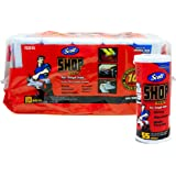 "Scott Shop 10-Pack 55 Towels Per Roll, 11"" X 10.4"" Sheet Size, Absorbs Liquids, Oils and Grease"