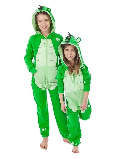 Zipups Mono-Pijama Turtle Verde 6-7 años (116/122 cm)
