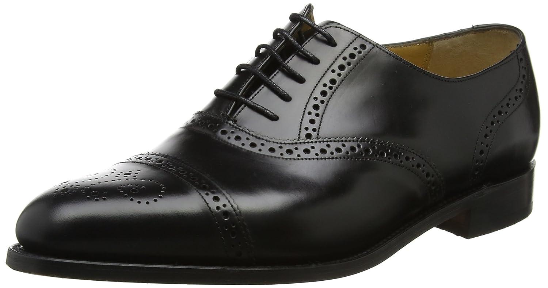 0b8673247c924 Barker Men's Alfred Oxfords, (Black Hi-Shine), 7 UK 41 EU: Amazon.co.uk:  Shoes & Bags