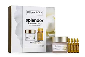 Bella Aurora Pack Splendor10 Dia 50ml + Ampollas Vitamina C (4) Bella Aurora 1 Unidad 100 ml: Amazon.es