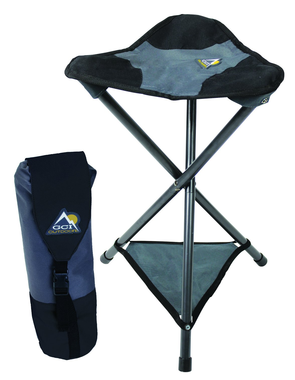 GCI Outdoor PackSeat Portable Tripod Camping Sports Stool by GCI Outdoor (Image #2)
