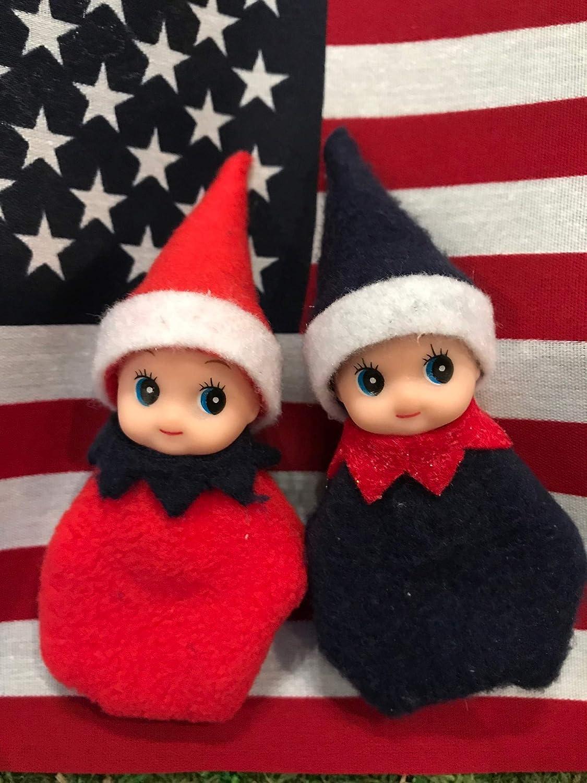 Baby elf twins