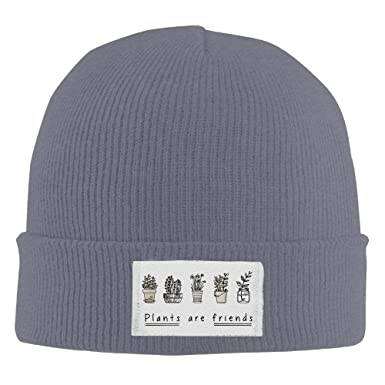 Best Plants Are Friends Leaf Green Nature Beanie Hat Knit Hat Slouchy Beanie  at Amazon Men s Clothing store  79ce878999c
