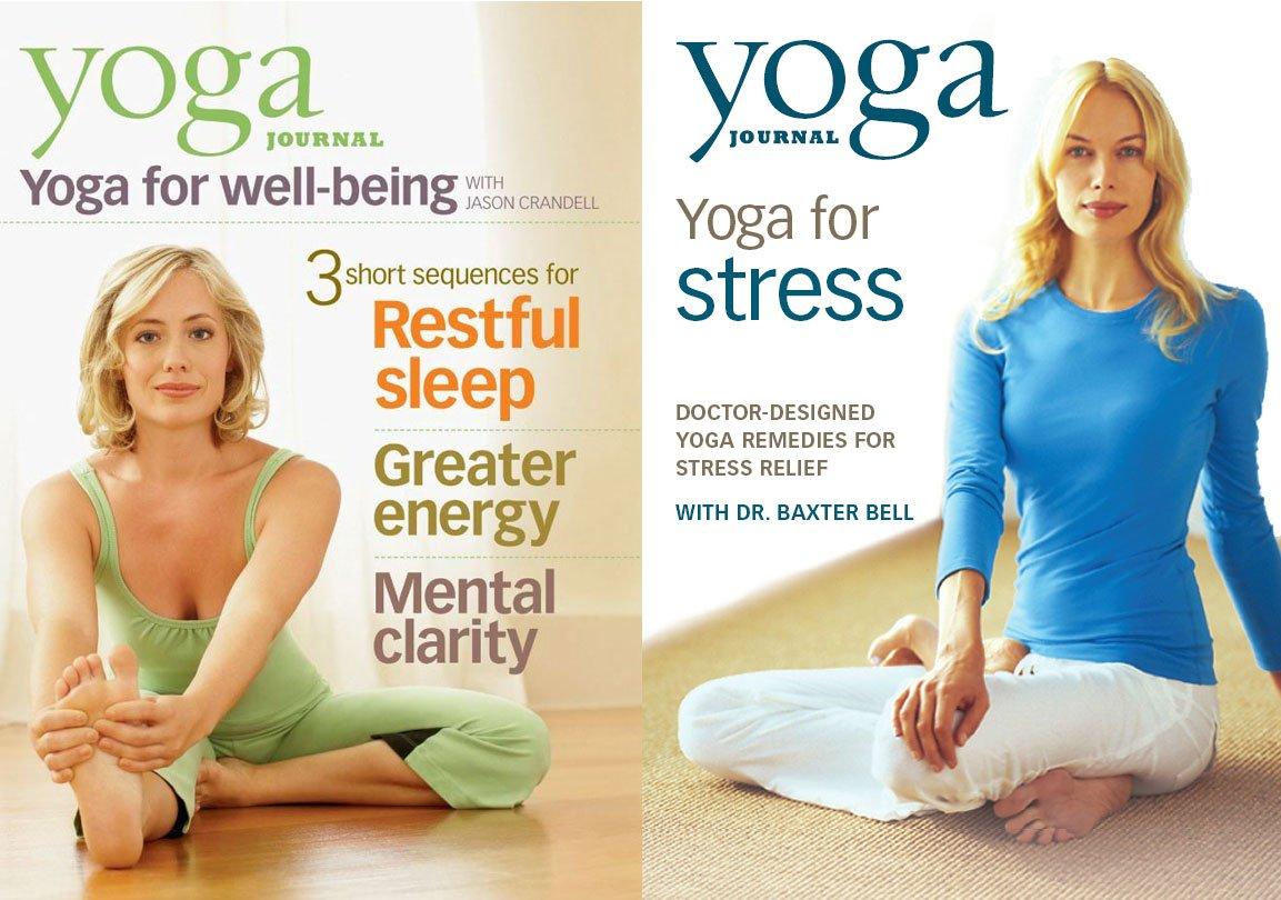 Amazon.com: Yoga Journal Wellness Pack (Yoga Well-Being/Yoga ...