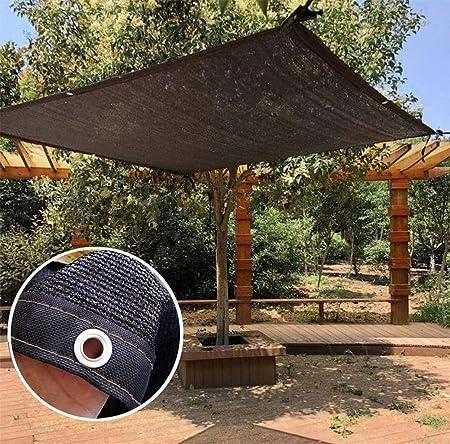 El sombreado Exterior Reforzado Velo Yard Cortina de la Vela Patio Lona Resistente a Prueba de