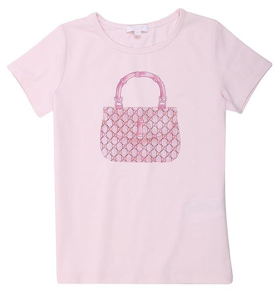 Gucci - Camiseta de manga corta - para niño Rosa rosa: Amazon.es: Ropa y accesorios