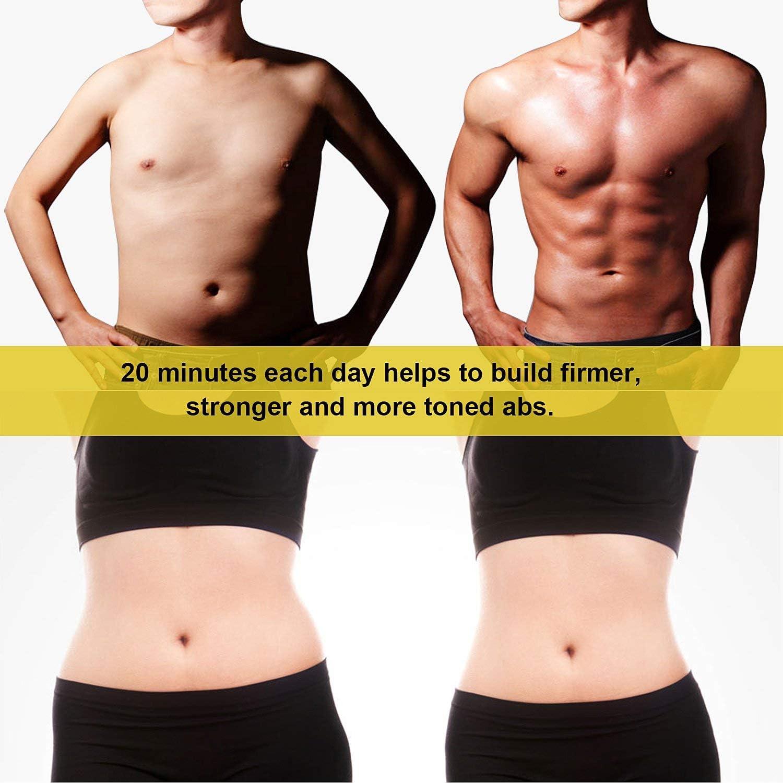 Pink Edge FAMIDOC Waist Trimmer Ab Stimulator Belt for Women Loss Weight Belly Fat Burner
