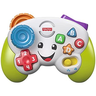 Fisher-Price Laugh & Learn Game & Learn Controller, Multicolor: Toys & Games