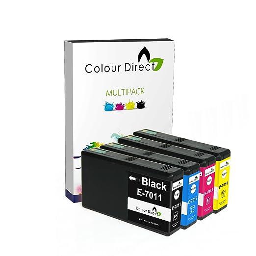 6 opinioni per Colour Direct Impostato Completo of 4 XXL Compatibile Cartucce d'inchiostro