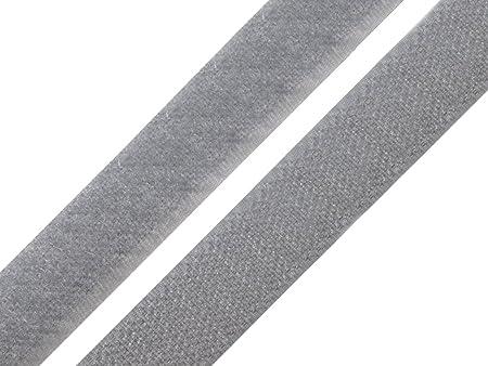 Premium Quality Velcro Hook /& Loop Tape Sew On 20mm Black
