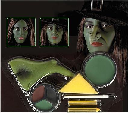 Alsino Hexen Schminke Schminkset 45081 Maske Hexenkostum