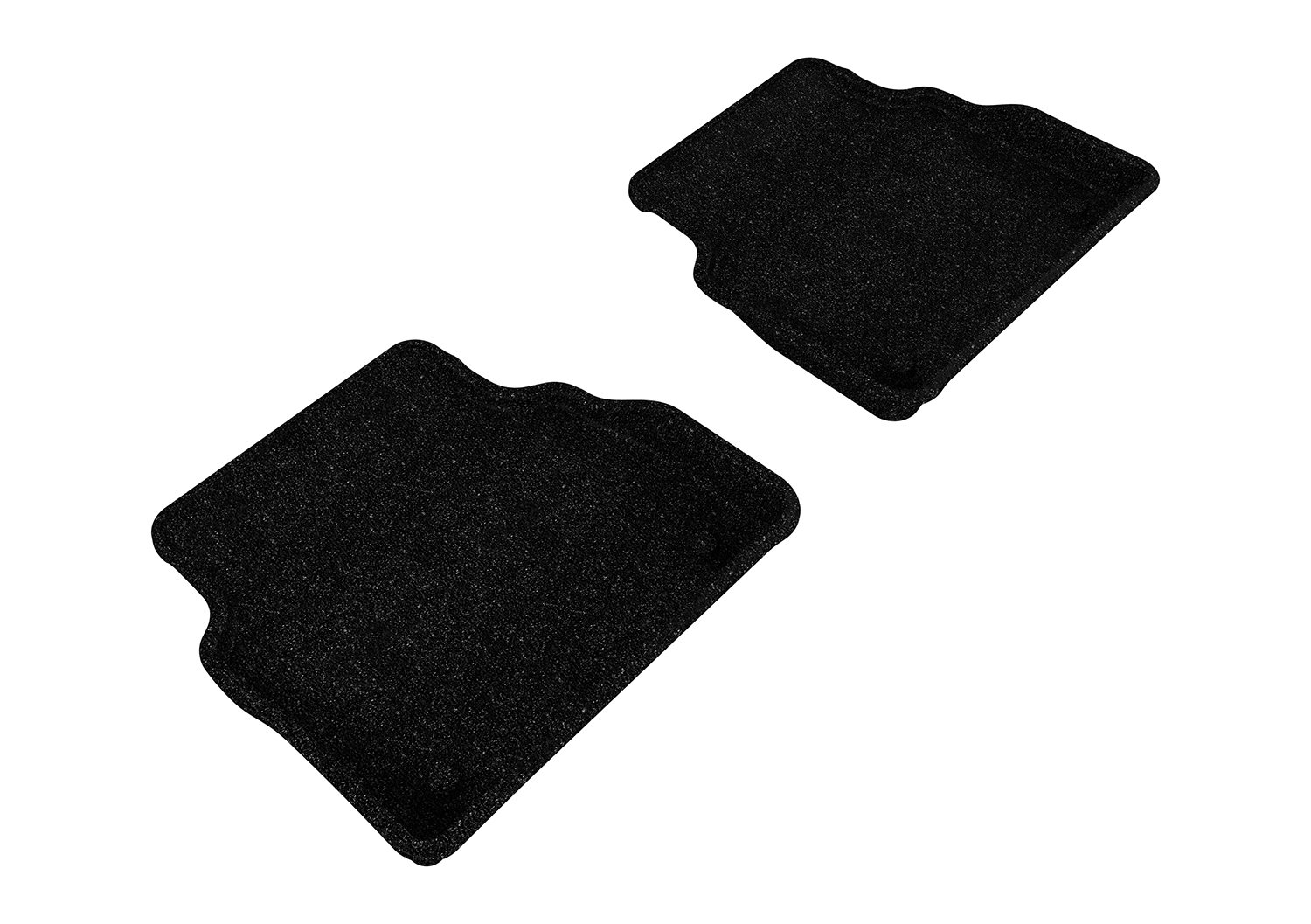 3D MAXpider Complete Set Custom Fit All-Weather Floor Mat for Select Audi A8 Models Gray Classic Carpet