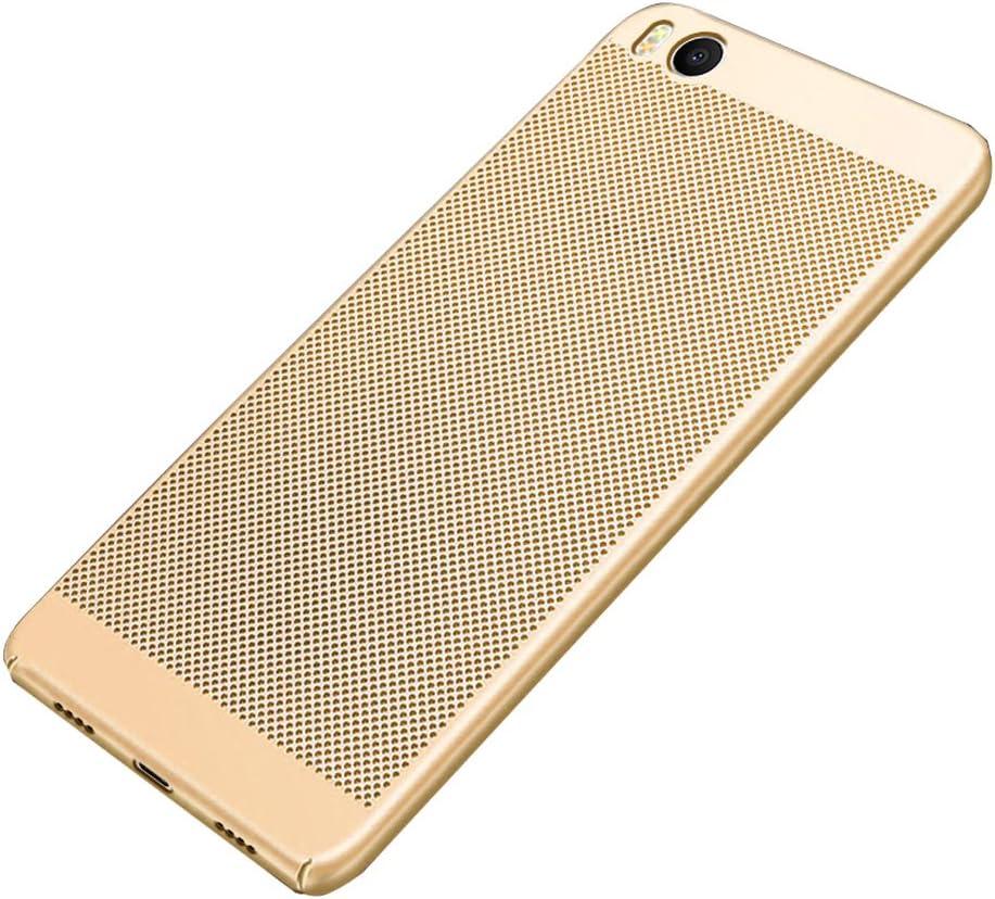 BLUGUL Funda Xiaomi Mi 5s, Respirable Disipación de Calor Hueco ...