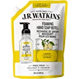 J.R. Watkins Lemon Foaming Hand Soap Refill Pouch, Scented Foam Handsoap for Bathroom or Kitchen, USA Made and Cruelty…