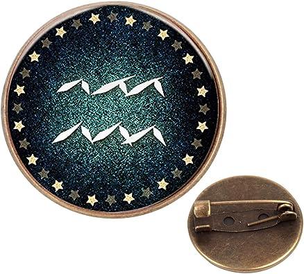 Pinback Buttons Badges Pins Vintage Compass Pendant Art Picture Lapel Pin Brooch Clip Trendy Accessory Jacket T-Shirt Bag Hat Shoe