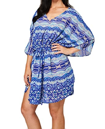 75c716d364 Star Dream Womens Girls Sexy Stylish Oversized Beachwear Swimwear Beach  Cover Up Sarong Dress (One Size Blue): Amazon.co.uk: Clothing