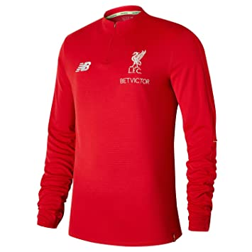 551f96105 Liverpool FC 18/19 Elite Mid Layer Football Training Top - Red - Size S