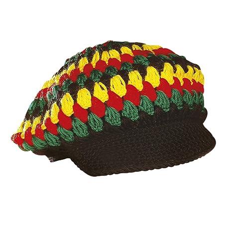 super economico 100% originale cerca il più recente WIDMANN Berretto Reggae/Rasta all'Uncinetto Cappello e ...