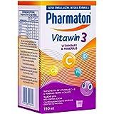 Suplemento De Vitaminas Pharmaton Vitawin 3, 150ml, Sabor Uva, Pharmaton