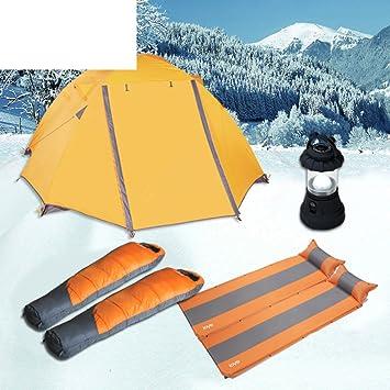Nieve campo carpas en invierno/ sacos de dormir gruesos/ luz automš¢tica tienda inflable-A: Amazon.es: Deportes y aire libre
