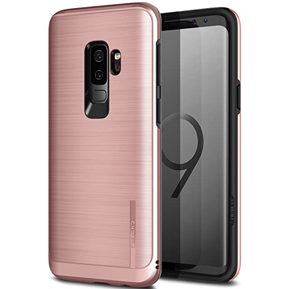 Galaxy S9 Plus Case, OBLIQ [Slim META], Slim Dual Layered Case, Inner TPU with Outer PC with a Metallic Brushed Finish and Anti-Shock Technology for ...