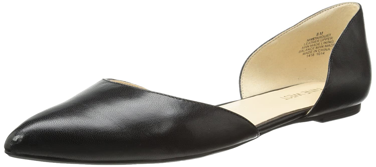 Nine West Women's Stardust Leather Ballet Flat: Amazon.ca: Shoes & Handbags