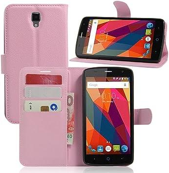 Guran? Funda de Cuero para ZTE Blade L5 Plus Smartphone Tirón de ...
