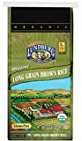 Lundberg Organic Long Brown Rice, 25 Pound (Pack of 1)