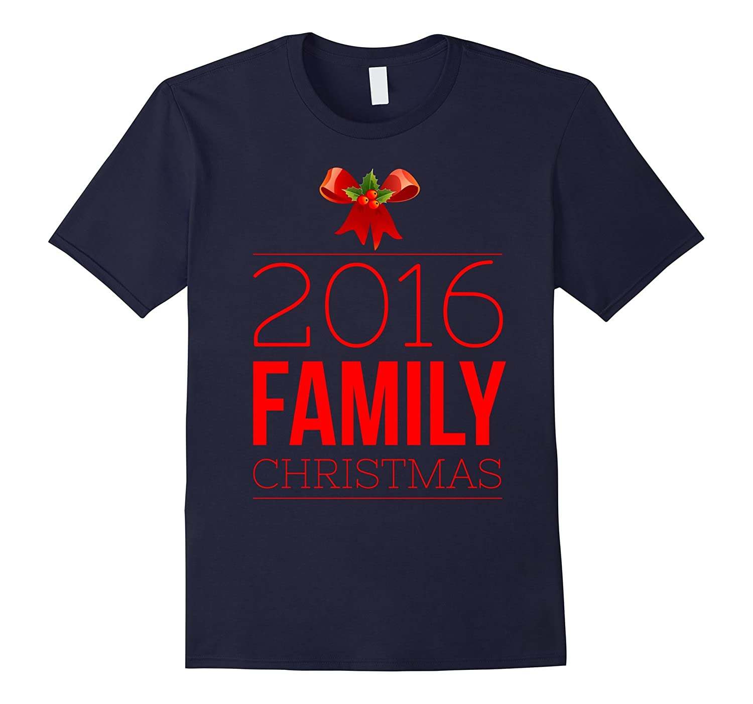 2016 Family Christmas T-Shirt-ANZ