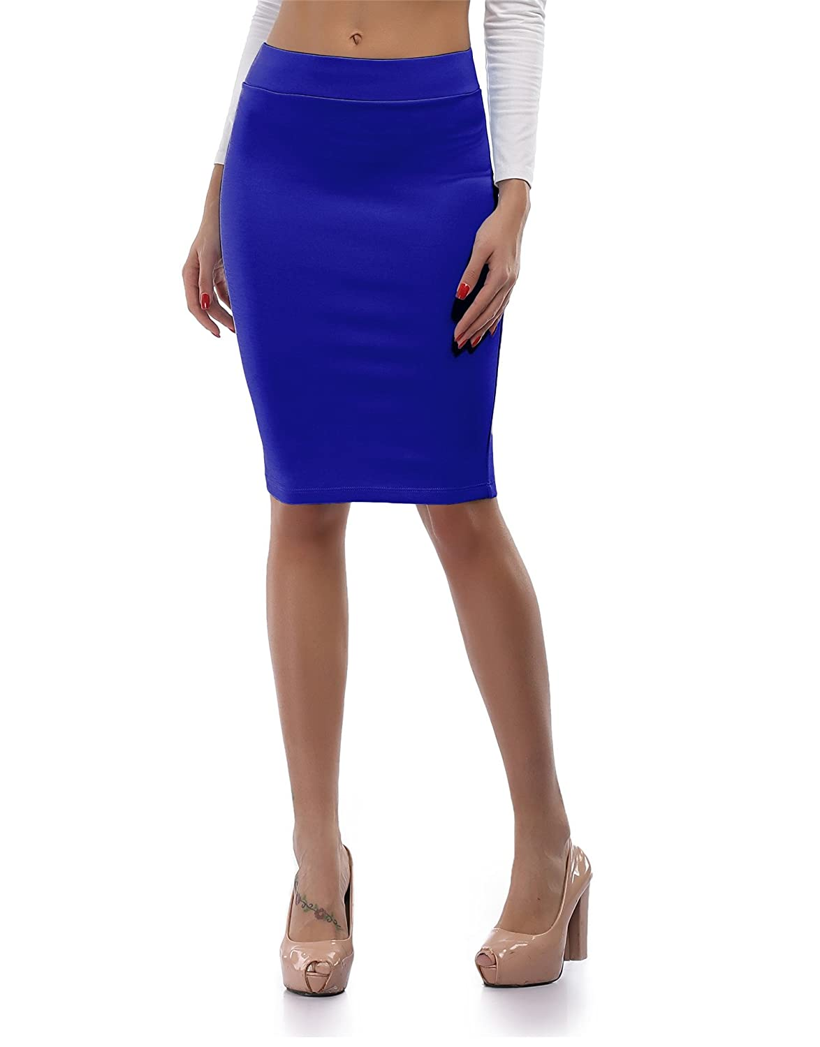 a31ca91ae Women\'s Gorgeous Stretch Short Pencil Skirts, Pull On Design, Fitted. Made  from comfortable,strethcy,smooth and not easilly wrinkle high quality yet  ...