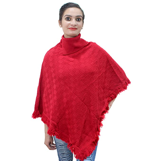Matelco Cape With Fringed Hem Crochet Poncho Knitting Patterns For