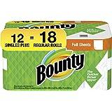"Bounty 2-ply Paper Towel Giant Rolls, 11"" X 10 1/4"", White, 20 Fluid Ounce"