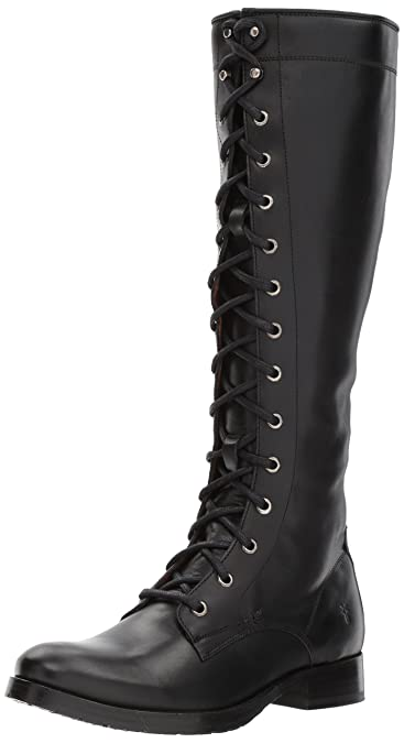 298580346ad Amazon.com | FRYE Women's Melissa Tall Lace Boot | Knee-High