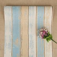 Houten zelfklevend behang Peel and Stick behang houtcontactpapier afneembaar behang voor woonkamerdeur kast, baardhek en…