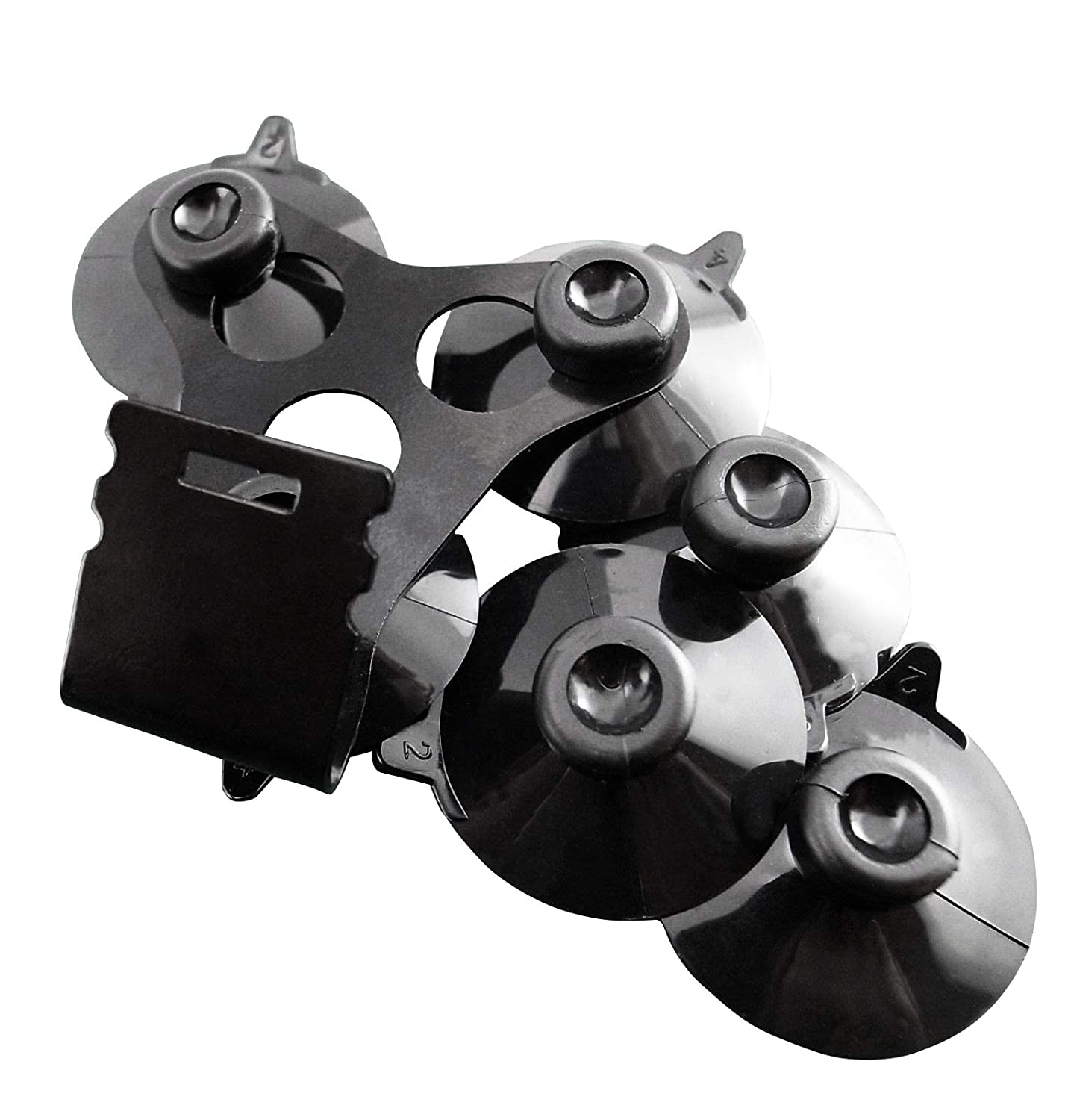 Amazon.com: Noa Store 1 x Windshield Mount Bracket + 6 Black Cup for All The Cobra Radar Detector Models: Car Electronics