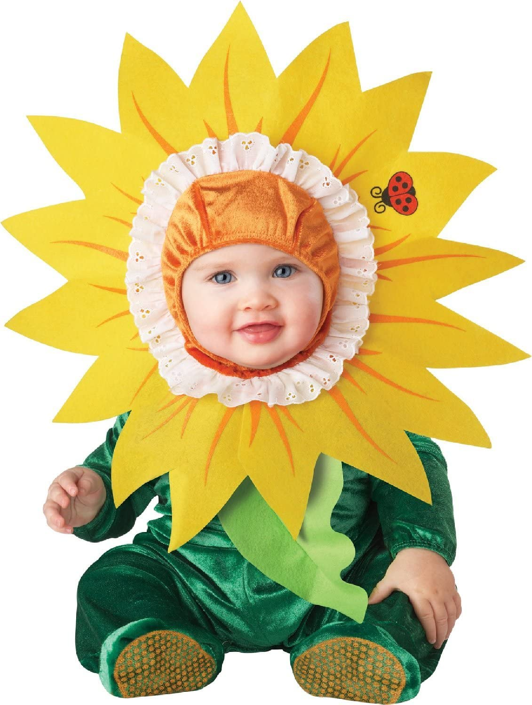 Generique - Disfraz Girasol para bebé-Clásico 6-12 Meses (66-74 cm ...