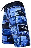 Tormenter Mens Waterman Life Boardshorts 40 Blue