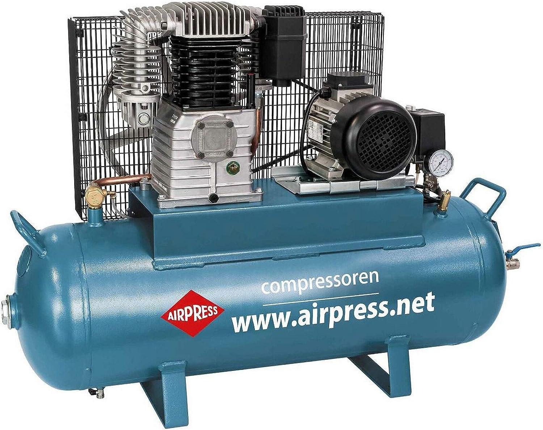 Airpress® Compresor de aire comprimido 3 PS 2,2 kW 15 bar 100 l ...