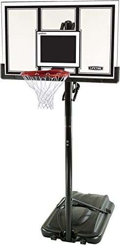 Lifetime Adjustable Basketball Hoop 54-Inch Polycarbonate