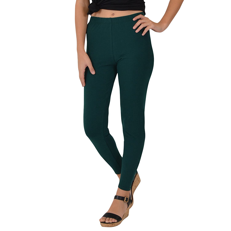 Stretch is Comfort Women's Teamwear Cotton Footless Leggings L3002WL-$P