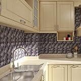 Peel and Stick Tile Backsplash - Arabesque Tile