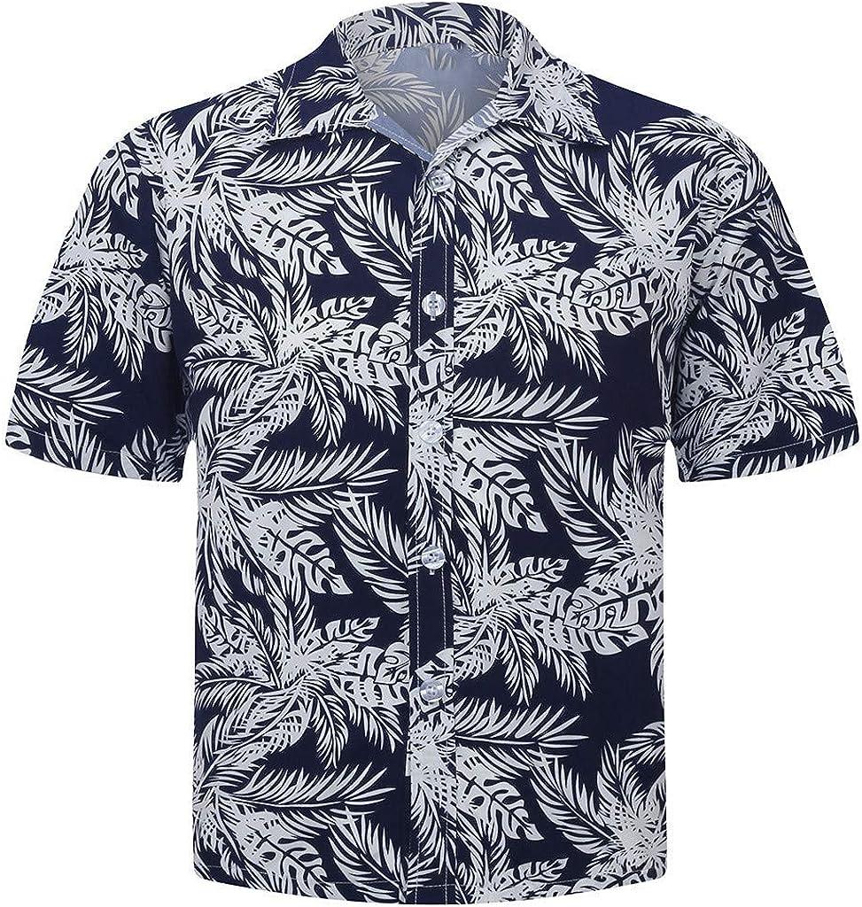 Viahwyt Aloha - Camiseta de manga corta para hombre (talla S-5XL), diseño de playa hawaiana Negro Negro (S: Amazon.es: Ropa y accesorios