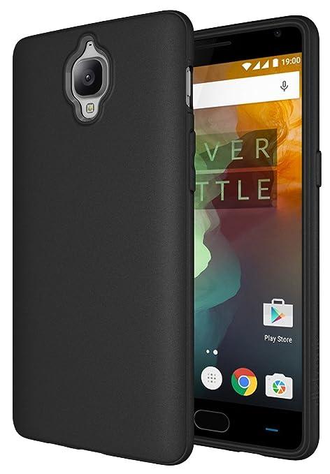 8 opinioni per Diztronic OP3-FM-BLK Custodia Slim-Fit per telefono OnePlus 3/3T, in TPU,