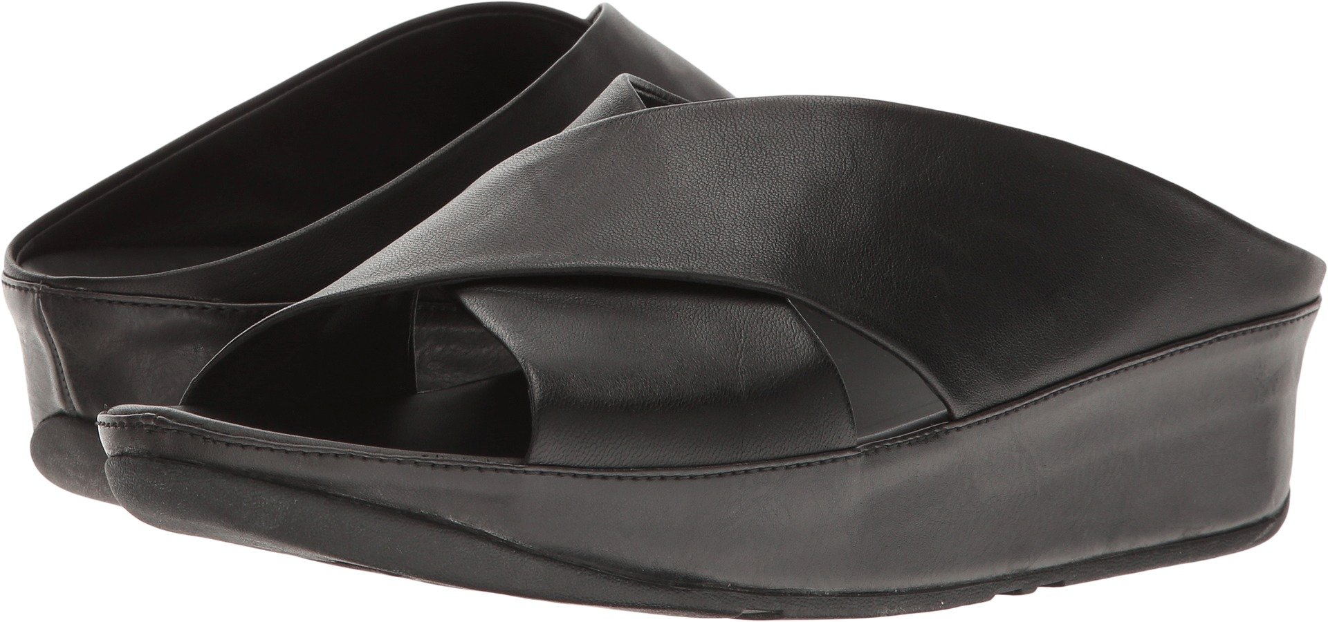 FitFlop Women's Kys Slide All Black 5 M US