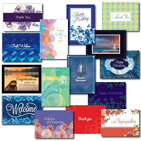 Amazon Greeting Card Box Set Assortment For Nearly Every